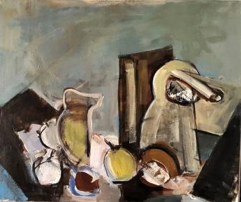 Bodegón, 2017. Acrílico sobre lienzo 50 x 40