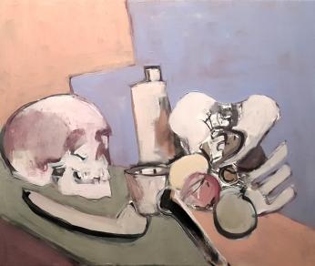Melancolía, 2018. Acrílico sobre lienzo 55 x 46 cm
